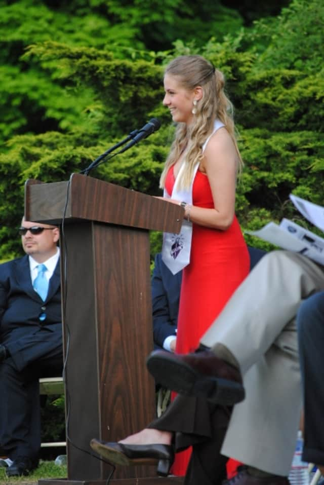 More than 500 students graduated from the Putnam/Northern Westchester BOCES Tech Center at Yorktown including salutatorian Breanne McCarthy, pictured.