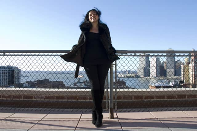 Jazz pianist and composer Amina Figarova is bringing her sextet to the Wilton Library Saturday.