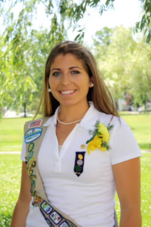 Wilton's Victoria Babchak was among 70 Girl Scouts in the state to win a Girl Scout Gold Award, the highest Girl Scout honor