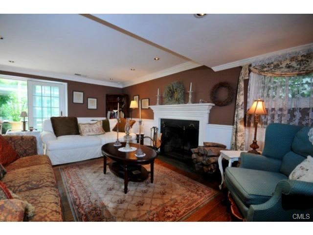 This home on Powder Horn Hill Road in Wilton will hold an open house Saturday.