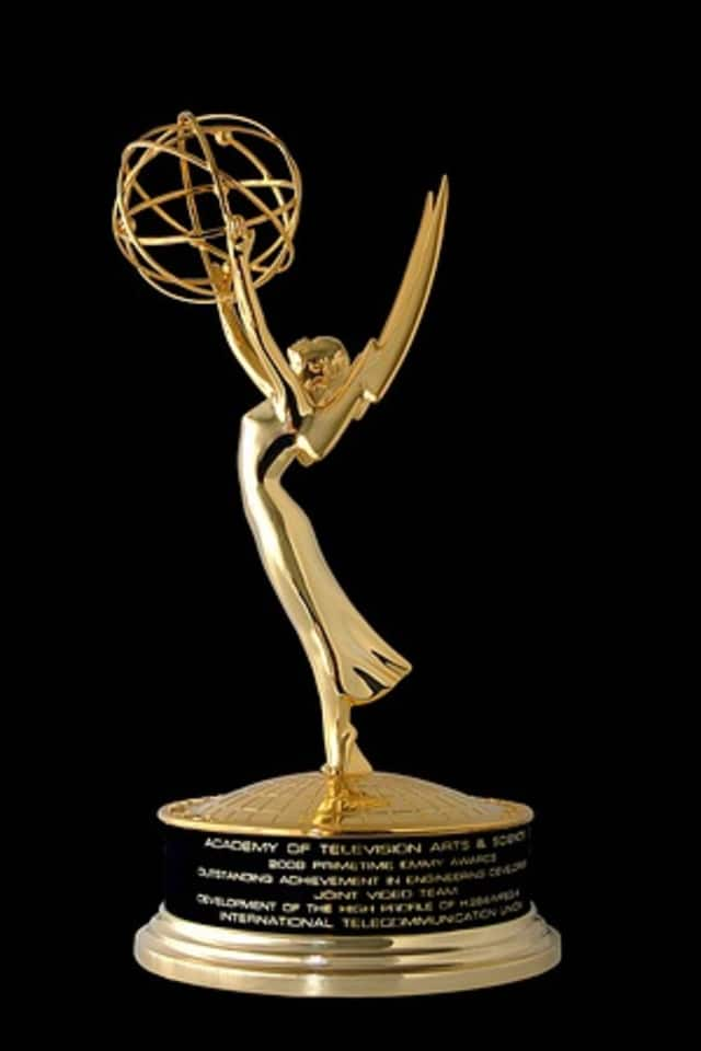 Harrison husband and wife Jon Coniglio and Fran Brescia-Coniglio both won at the 40th annual Daytime Emmy Awards.