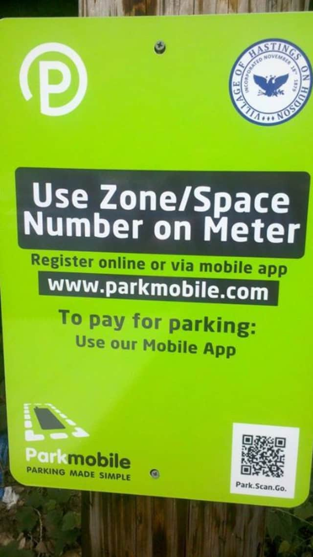 Hastings commuters can pay at meters by phone instead of quarters at the Hastings train station.