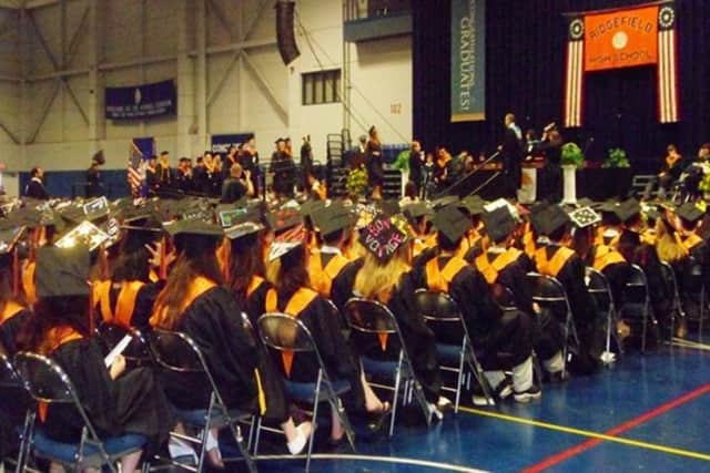More than 400 students and their families will come together on Friday to celebrate the 2016 graduating class from Ridgefield High School.
