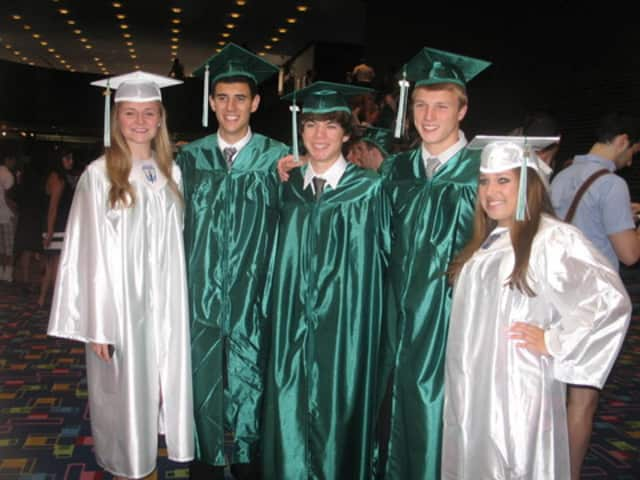On Saturday, the Class of 2013 at Yorktown High School will join these members pf the Class of 2012 in the alumni ranks.