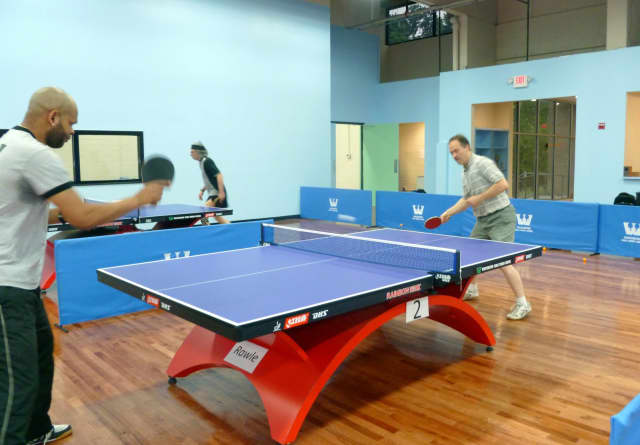 """Westchester Magazine has named the Westchester Table Tennis Center as the best """"rainy day activity."""""""
