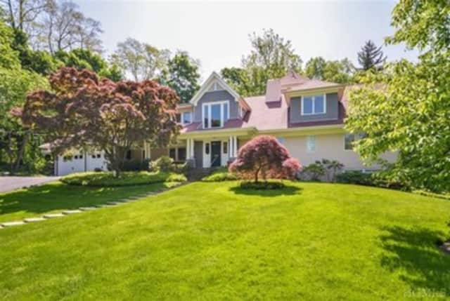 This house on North Hendrick Lane in Irvington is listed for $2.295 million.