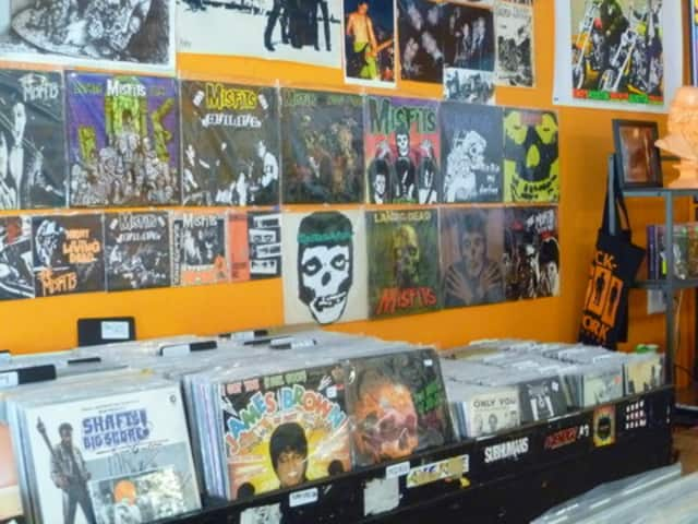 Clockwork Records opened last month in Hastings.