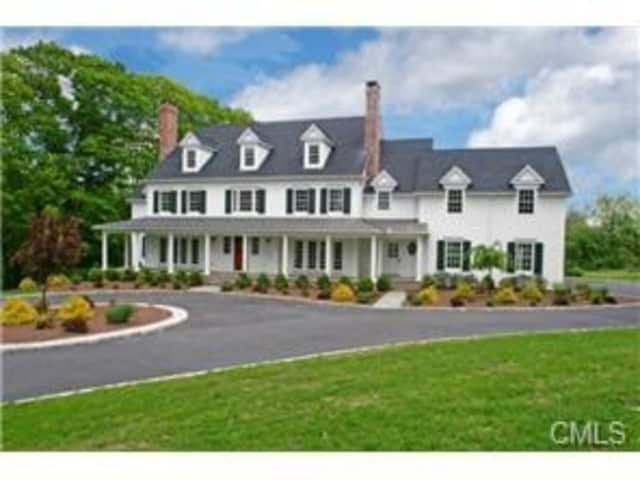 This five-bedroom home on North Salem Road in Ridgefield will be open for viewers from 1 to 3 p.m. on Sunday, June 23.