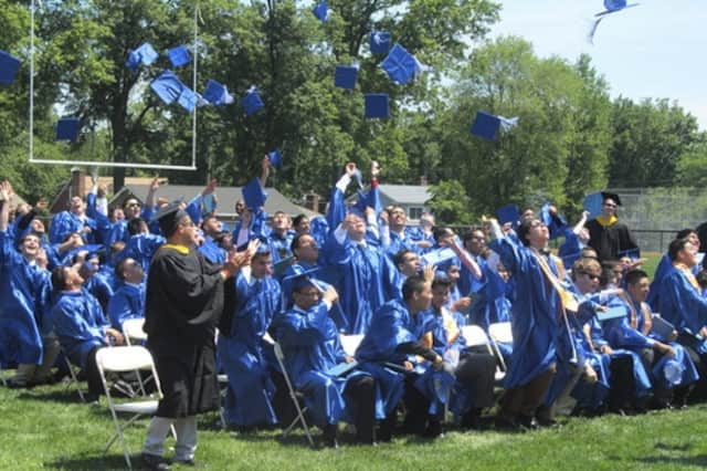 Port Chester High School and Blind Brook High School both bid farewell to the Class of 2013 this week.