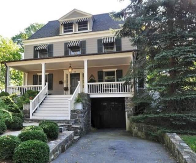 This house on Sunnyside Avenue is hosting an open house this weekend.