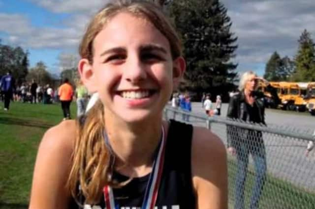 Bronxville's Mary Cain took second place at 1,500-meters in the USA Teack & Field Championships Saturday.