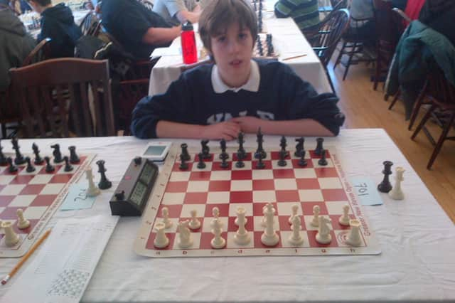 Dobbs Ferry chess whiz Nicolas de T. Checa won the National Online Chess Tournament for Under-12 players.