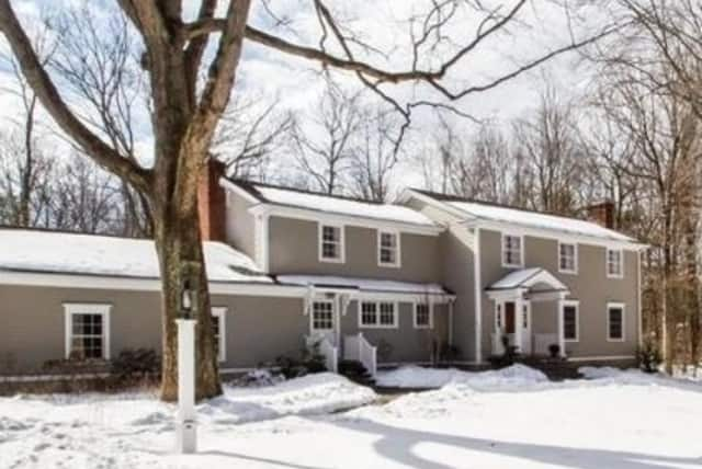 This house on 557 Belden Hill Road in Wilton sold recently for $1.154 million.