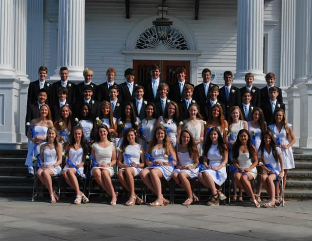 The New Canaan Country School Class of 2013.