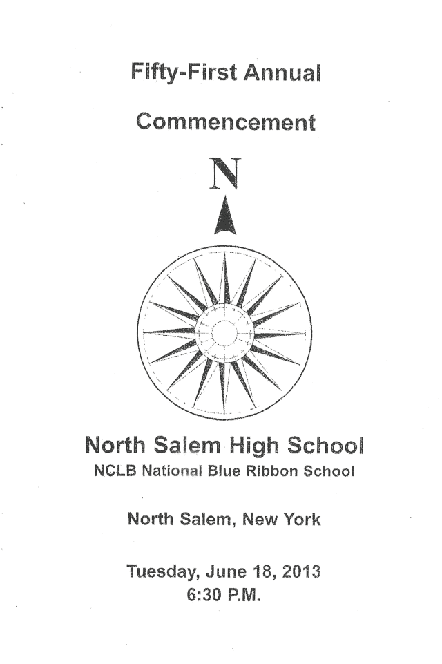 The North Salem High School class of 2013 is headed to an impressive list of colleges in the fall.