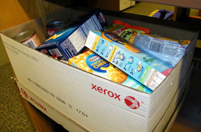 Stacy Jaikaran will be collecting non-perishable food items in Mount Vernon on Thursday.