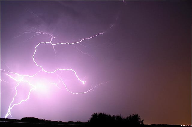 Thunderstorms could roll through North Jersey this week.