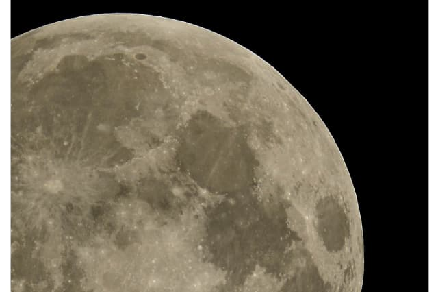 North Salem's Robbie Kondor photographed this supermoon in a past year.