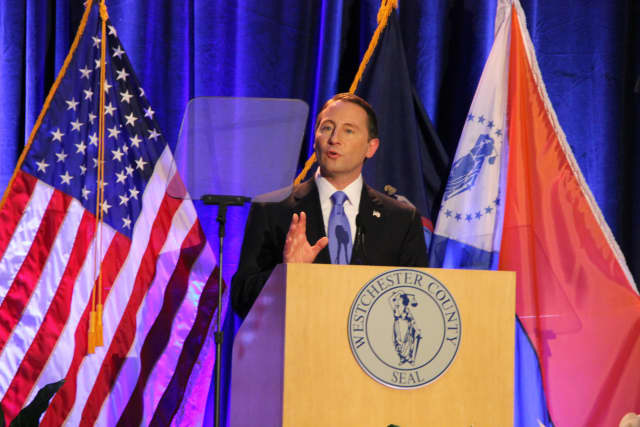 County Executive Robert Astorino is coming to Mount Pleasant on Monday, town officials annouced Wednesday.