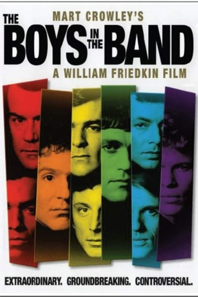 """""""The Boys in the Band"""" will be the focus of a Ridgefield Playhouse question and answer session following a screening of the 1970 film on Sunday."""