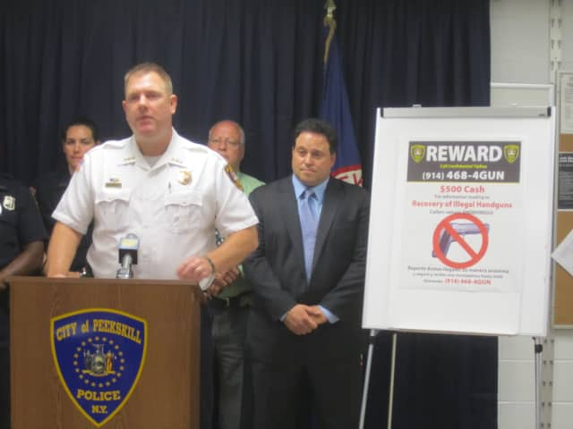 A new initiative to get illegal guns off the streets of Peekskill tops the news in town this week.