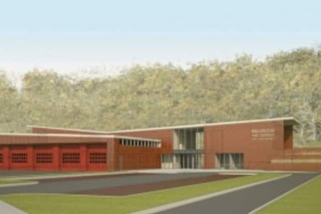 The new Millwood Firehouse will be started next month.
