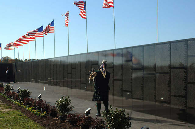 """""""The Moving Wall"""" replica of the Vietnam Veterans Memorial will visit Overpeck Park in Ridgefield Park May 19-23."""