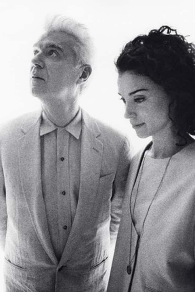 David Byrne and St. Vincent will perform at the Capitol Theatre in Port Chester on Saturday.