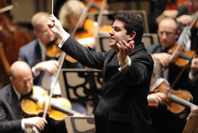 Tito Munoz will conduct a performance of the Westchester Philharmonic at Purchase College in Harrison Saturday.