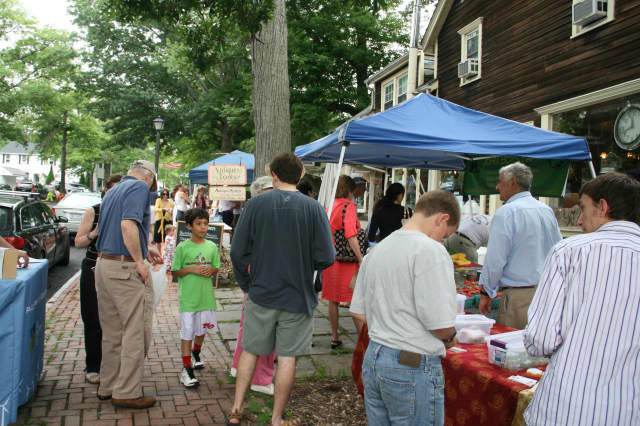 Pound Ridge's Farmers and Bakers Market takes place every Sunday from 11 a.m. to 3 p.m.