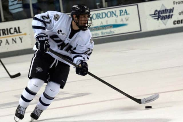 Brettt Pesce, a University of New Hampshire student, has been drafted to play for the Carolina Hurricanes.