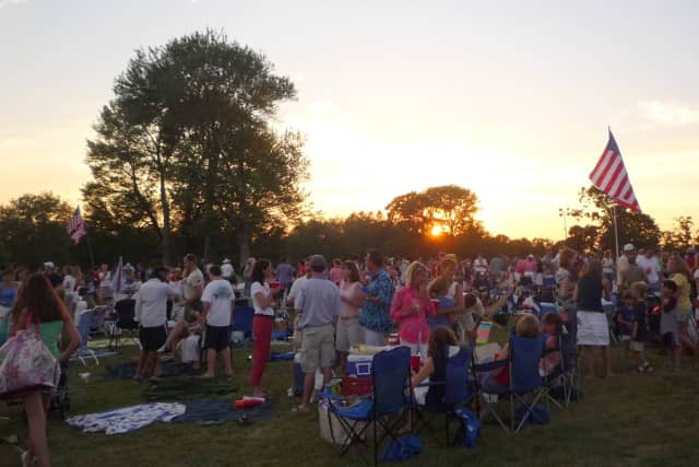 Many residents will be gathering at Waveny Park for New Canaan's Family Fourth fireworks.