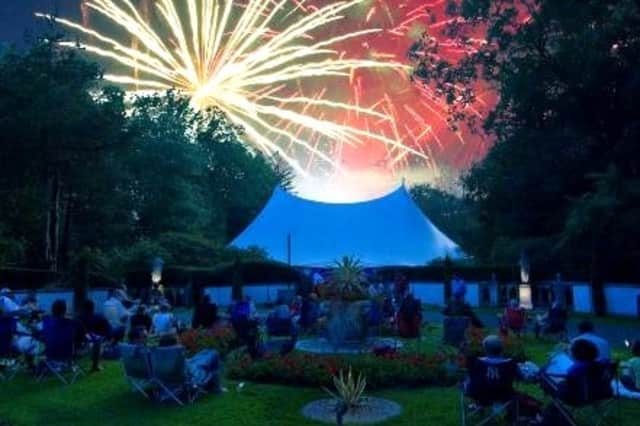 The Caramoor in Katonah will feature fireworks and a concert Thursday at the Venetian Theater.