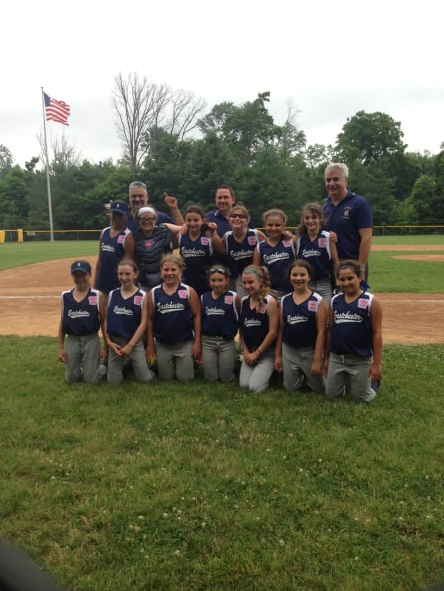 The Eastchester 10U girl's softball team will play in the finals.