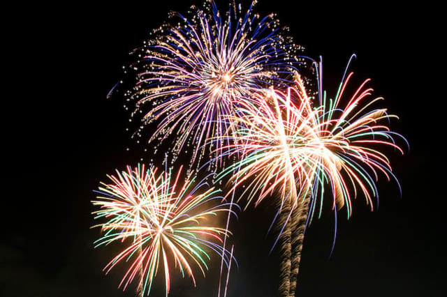 Fairfield's annual Fourth of July Fireworks Show starts at about 9:15 p.m. Sunday off Jennings and Penfield beaches.