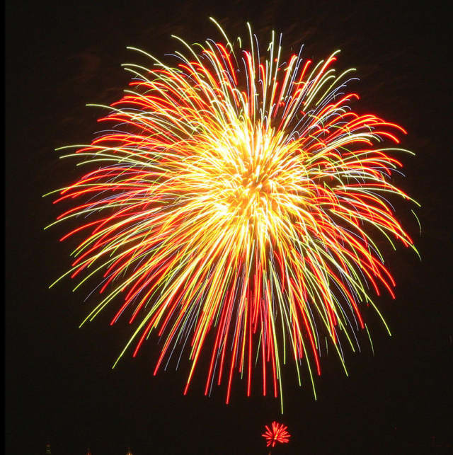 There will be fireworks in Tuckahoe on Saturday.