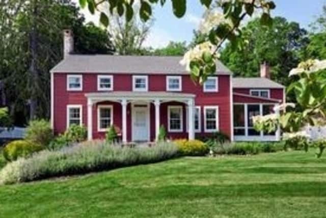 A 1740 Colonial in Chappaqua is listed For $1.398 million.