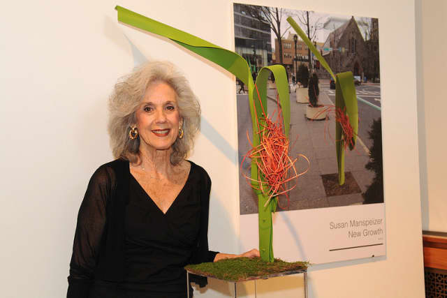 """Susan Manpeizer of Pound Ridge is one of 26 artists with a piece in the exhibit """"Placemaking: Re-envisioning White Plains."""""""