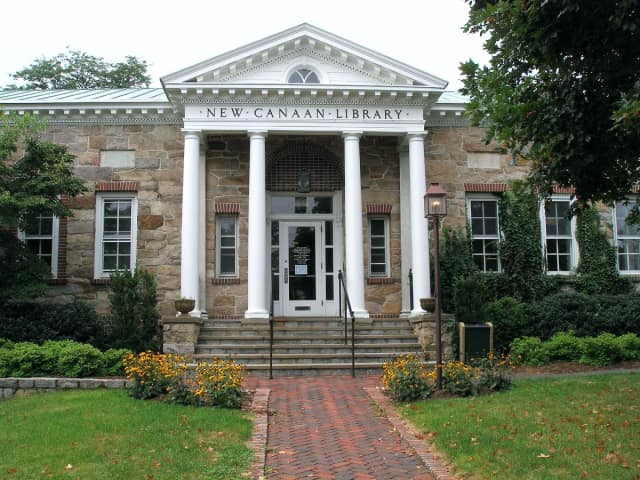 The New Canaan Library is one of the places that will be closed on the Fourth of July.
