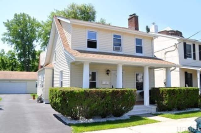 This three-bedroom colonial in Tarrytown is listed for $469,000.