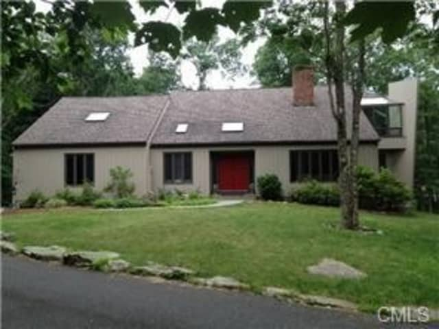 This home on Thayer Pond Road in Wilton will host an open house Sunday from 1 to 3 p.m.