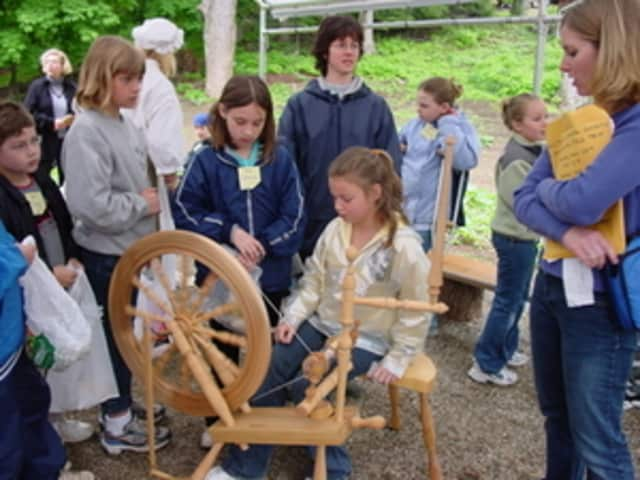 Kids can learn about America's past in a day camp at the Wilton Historical Society.