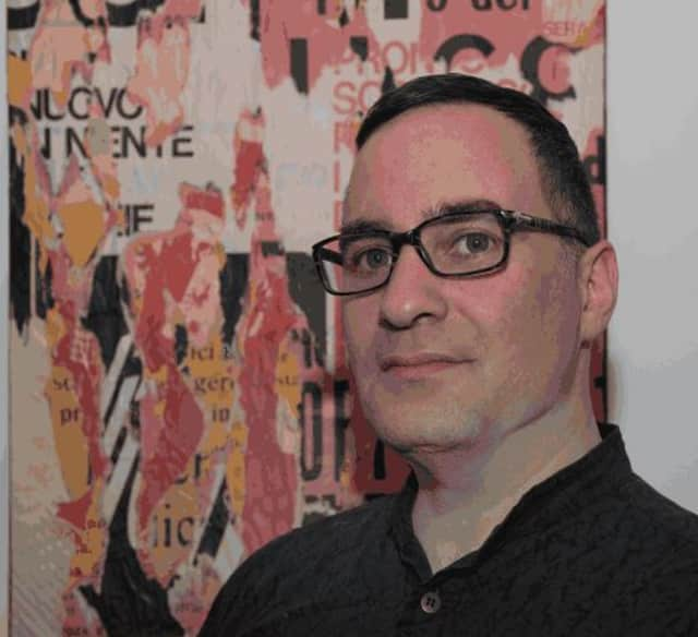 North Salem native Pavel Zoubok is the founder of the International Collage Center, which is being featured through October at the Katonah Museum of Art.