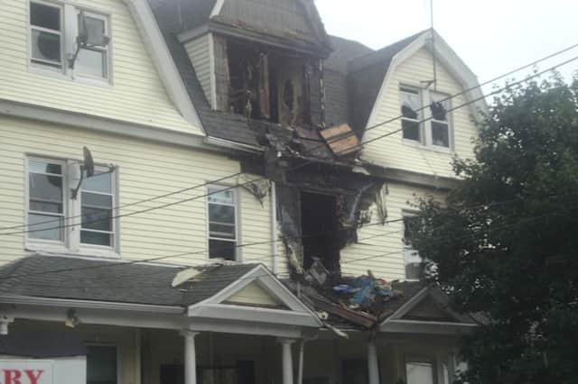 A fire ripped through a multifamily home on Poningo Street in Port Chester on Monday night.