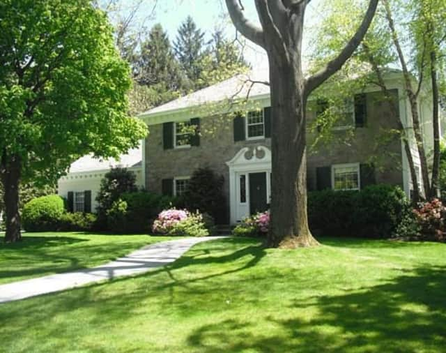 This Bronxville home is being shown for more than $2 million.