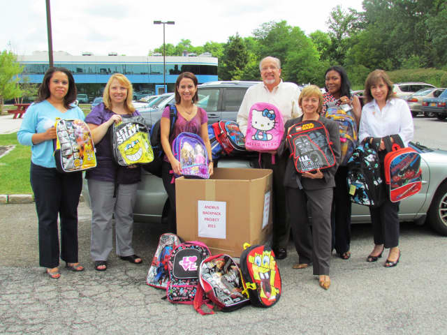 "The Andrus Children's Center is sponsoring its ""Backback Bonanza"" to supply young people with materials for the school year."