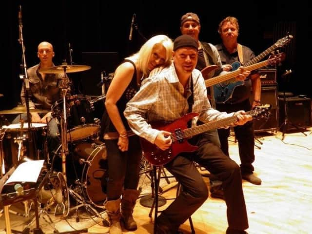 See blues/R&B band Buried in Blue at Katonah Park on Thursday at 7 p.m.