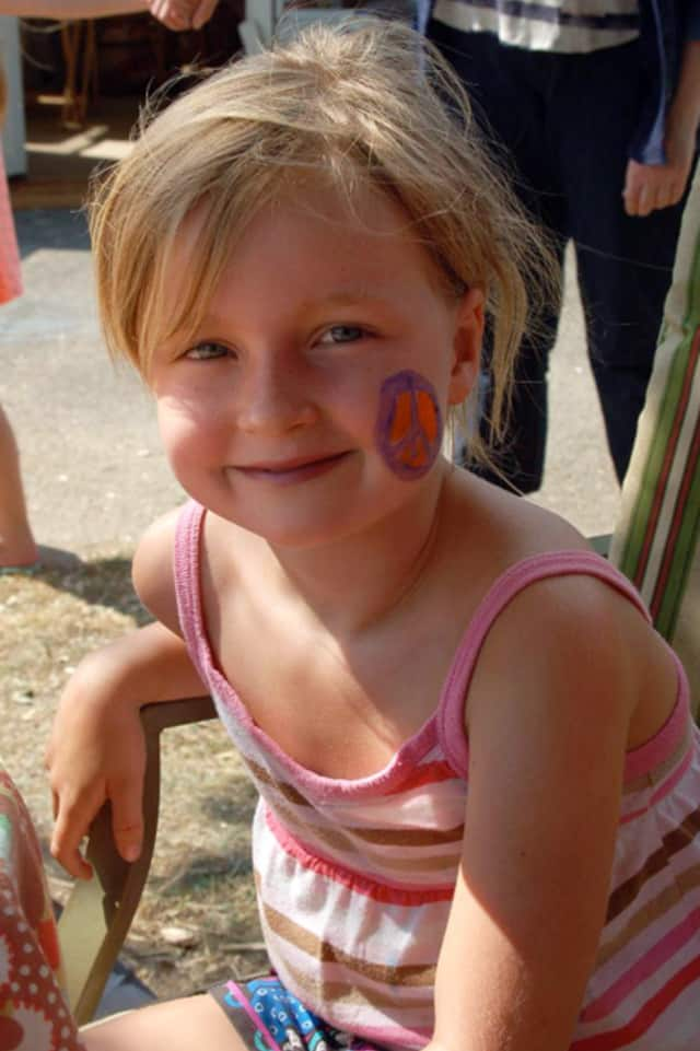 Kids can get their faces painted and much more this Saturday at Westport's Wakeman Town Farm.