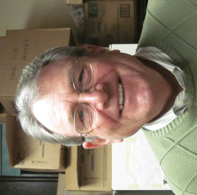 Marty Englehardt, President of Ossining Food Pantry