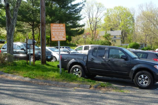 A new state grant will allow New Canaan to build a pocket-park in the Locust Avenue parking lot soon.